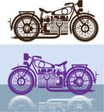 Tappningmotorcykel Royaltyfria Foton