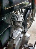 Tappningmotorcykelmotor Royaltyfri Fotografi