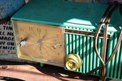 TappningMotorola klocka på skärm arkivbild