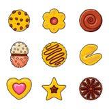 Tappningmuffinsymboler Arkivfoto