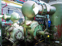 Tappningnaturgaskompressor Royaltyfri Bild