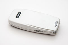 TappningNokia telefon från 2000s Arkivbild