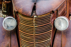 Tappningoljalastbil Royaltyfri Foto