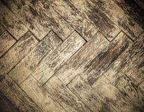 Tappningparkettgolv Trevlig grungetextur arkivfoto