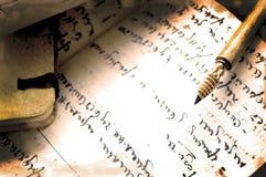 Tappningpenna Arkivbild