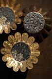 Tappningplåtar och gjuter Royaltyfria Bilder