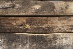 Tappningplanlägger trähorisontalwood plankor med sprickor, skrapor för grunge, modeller, bakgrund, kopieringsutrymme arkivbild