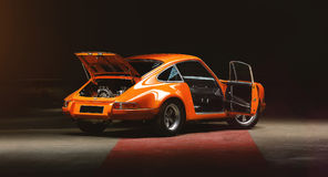 TappningPorsche 911 bil Arkivbild