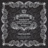 Tappningram och emblem Royaltyfri Foto
