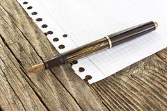 Tappningreservoarpenna Arkivfoton
