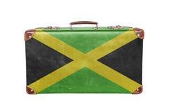 Tappningresväska med den Jamaica flaggan Royaltyfri Bild