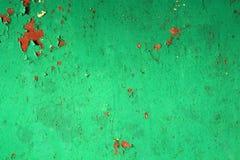Tappningrost och målarfärg Arkivfoto