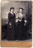 Tappningrysssystrar arkivfoto