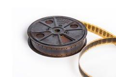 Tappning filmar med rullen - filmbegrepp med utrymme för text Royaltyfri Foto