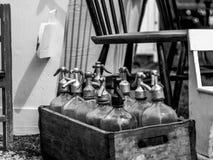 Tappningsodavattenhävertar royaltyfria bilder