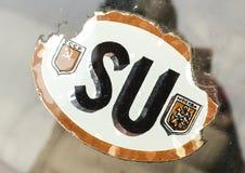 TappningSovjetunionen klistermärke Royaltyfria Foton