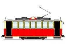 Tappningspårvagn stock illustrationer