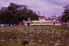 Tappningspårvagnbild i Mexico - stad, 1967 Royaltyfria Bilder