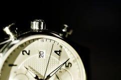 Tappningstil av lyxiga män klocka, begrepp av numret i klocka Royaltyfri Bild