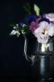 Tappningstil, blom- garneringar Royaltyfri Foto