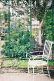 Tappningstol med naturen Royaltyfria Bilder