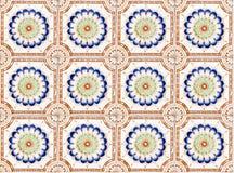 Tappningtegelplattadesign royaltyfri fotografi