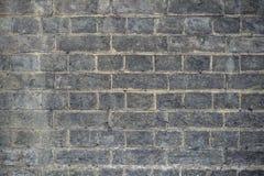 Tappningtegelstenvägg Royaltyfri Bild