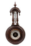 Tappningträbarometern Royaltyfri Bild