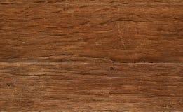 Tappningträurblekt åldrigt bräde med sprickor, kontroller och defekter Royaltyfri Foto