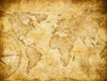 Tappningvärldskarta som baseras på bilden som möbleras av NASA vektor illustrationer