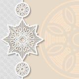 Tappningvektorbakgrund, festligt utföra i relief för modell Royaltyfria Bilder
