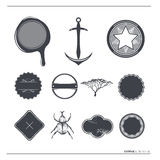 Tappningvektoretiketter & symboler Royaltyfri Bild
