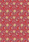 tappningwallpaper Royaltyfri Illustrationer