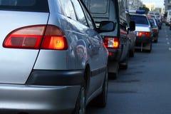 Tappo delle automobili Fotografie Stock