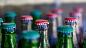 Tappo di bottiglia delle bibite fotografia stock