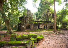 Taprom Temple, Angkor Thom Stock Image