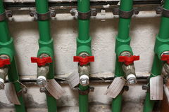 Taps. Just a picture of water taps royalty free stock photos
