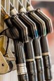 Taps a gas station Stock Photos