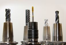 Taps, Thread, Drill, Milling Royalty Free Stock Photos