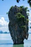 Tapu ö (som kallas populärt James Bond Island) Arkivfoton