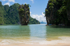 James Bond Island Thailand Stock Photos