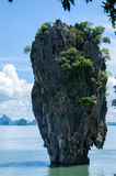 Tapu Island (popularly called James Bond Island) Stock Photos