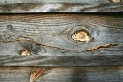 Tapume de madeira rústico Foto de Stock Royalty Free