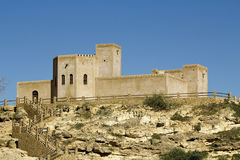 Taqa fort - castle, Oman Royalty Free Stock Photography