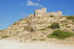 Taqa fort - castle, Oman Stock Photo