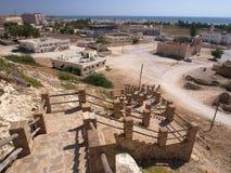 Taqah - château et ville Images libres de droits