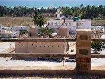 Taqah - château et ville Photos libres de droits