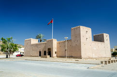 Taqah Fort. The most popular castle to visit in the region of Dhofar in the South of Sultanate of Oman Royalty Free Stock Photography