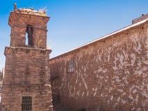 Taquile海岛在Titicaca湖 库存图片