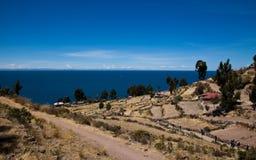 Taquile海岛 免版税图库摄影